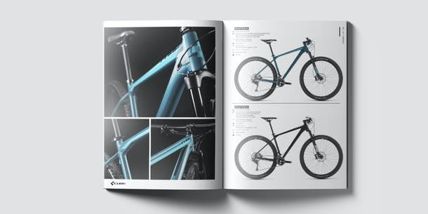 EDITORIAL DESIGN Cube Bike